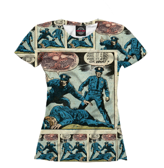 Женская футболка itwasnt
