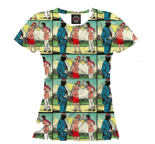 Женская футболка xray3