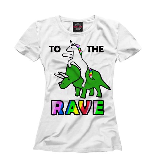 Женская футболка totherave W