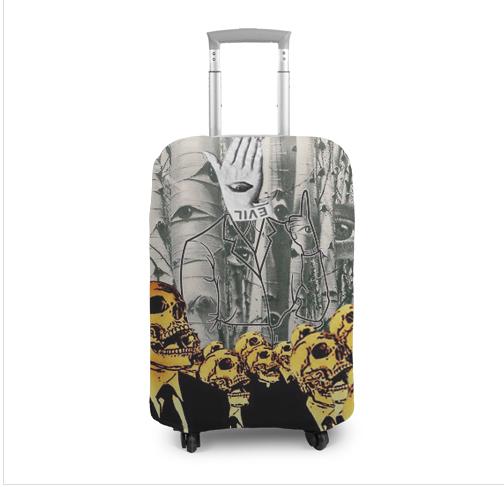 Чехол для чемодана Невидимая-рука-зла